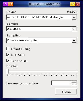 SDR gain controls